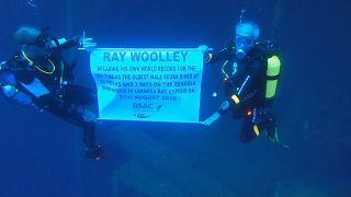 Ветеран-аквалангист побил свой собственный рекорд