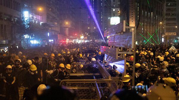 Hongkong gibt keine Ruhe