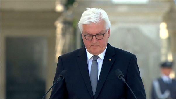 Bocsánatot kért a német államfő a II. világháború bűneiért