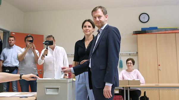 Almanya'da koalisyonu sarsacak eyalet seçimleri: Brandenburg ve Saksonya'da seçmen sandığa gitti