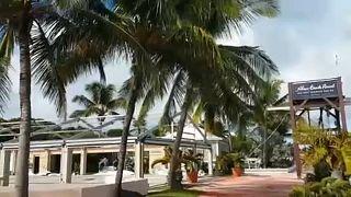 Mindjárt lecsap a Bahamákra a Dorian hurrikán