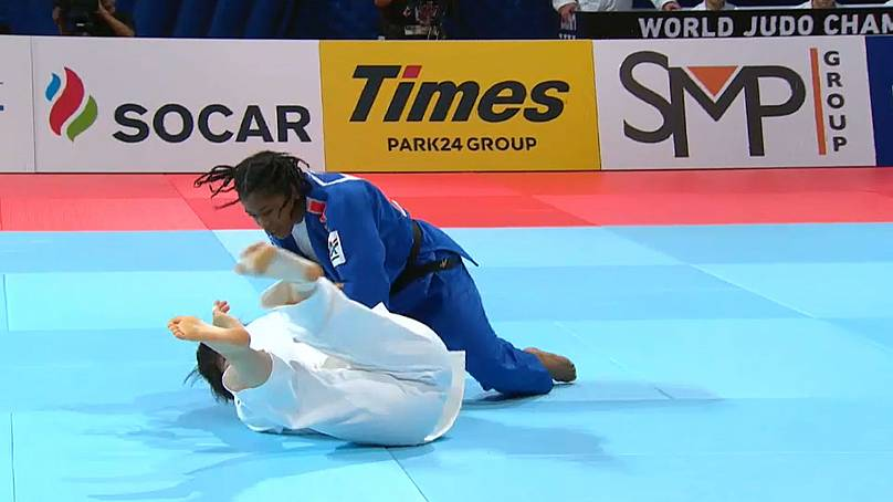 World Judo Championships: Japan crowned World Mixed Team