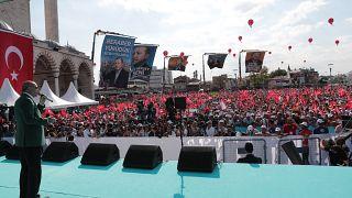 Türkiye Cumhurbaşkanı Recep Tayyip Erdoğan, ( Cumhurbaşkanlığı / Murat Çetinmühürdar - Anadolu Ajansı )
