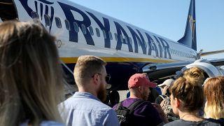 Seis vuelos cancelados en la primera de las 11 jornadas de huelga de Ryanair en España