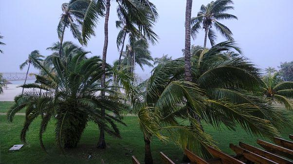A Bahamákon a rekorddöntögető hurrikán