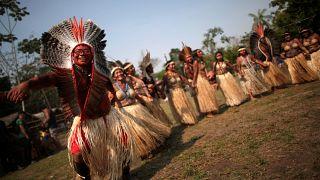 Patrullas y rituales en defensa de la Amazonia