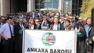 Ankara Barosu Başkanı: Açılışı olması gereken yerde Adalet Sarayı'nda yaptık