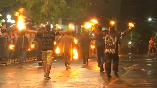 ویدئو؛ جشن سالانه آتش در السالودور