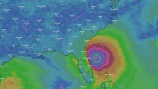 Sigue en directo la trayectoria del huracán Dorian que bordea la costa este de Estados Unidos