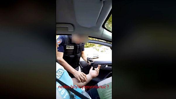 Fransız polis derneği: Türk gurbetçi ile tartışan polisin üniforması, yeleği ve kelepçesi sahte