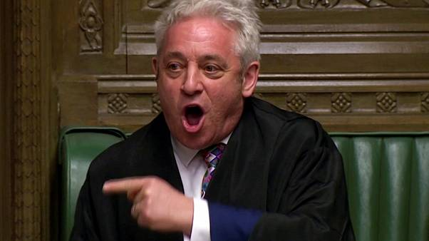 Speaker of the House John Bercow will have to decide Tuesday whether to let no deal opponents take control of the Order Paper