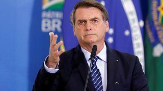 Amazonlar'daki yangın krizi sonrası halkın Brezilya lideri Bolsonaro'ya desteği dibe vurdu