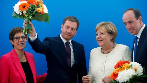 Almanya'daki Brandenburg ve Saksonya eyalet seçimleri sonrası sandıktan çıkan 5 sonuç