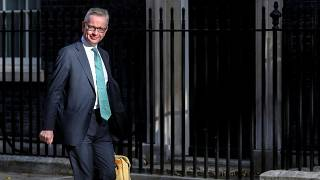 Britain's Chancellor of the Duchy of Lancaster Michael Gove walks outside Downing Street in London, Britain, September 2, 2019.