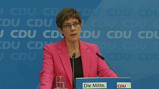 La CDU no baraja pactar con la ultraderechista Alternativa para Alemania