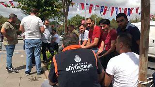 İstanbul Büyükşehir Belediyesi'nden atılan işçiler tepkili: Sınavla girdik, AK Parti üyesi değiliz