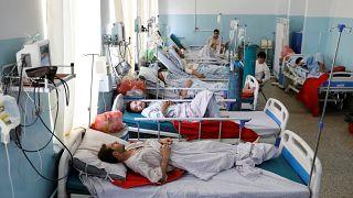 رغم مسودة اتفاق السلام مع أمريكا .. هجوم جديد لطالبان بكابول يوقع عشرات القتلى والجرحى