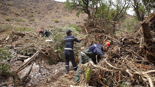 حصيلة فيضانات المغرب ترتفع إلى 8 قتلى