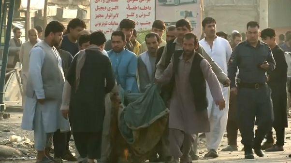 Взрыв у международного комплекса в Кабуле: 16 погибших