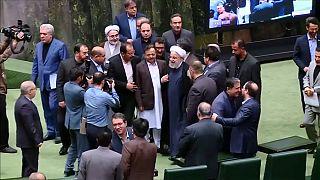 Parlamentsrede: Ruhani verstärkt Druck auf EU