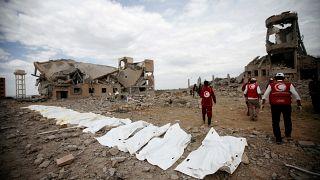 قربانیان حملات هوایی ائتلاف نظامی عربستان به یمن