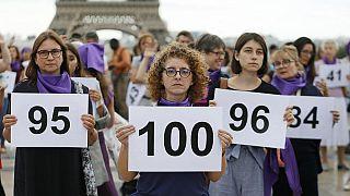 Un 'Plan Marshall' contra las más de 100 mujeres asesinadas por sus parejas al año en Francia