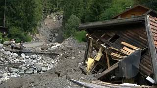 Doce evacuados por un corrimiento de tierras en Austria