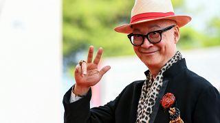 Le cinéaste hongkongais Yonfan, Venise (Italie), le 02/09/2019