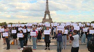 101 mujeres asesinadas en Francia por su pareja en lo que va de año