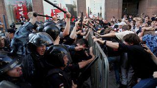 Moscú, Rusia. 27 de julio de 2019