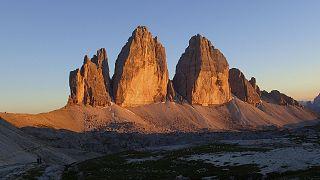 Sonnenuntergang mit Blick auf die Drei Zinnen - Andrea Schieber - flickr