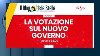 El Movimiento 5 estrellas vota a favor de un gobierno con el Partido Democrático en Italia