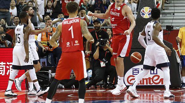 FIBA Dünya Kupası: Türkiye, ABD karşısında son saniyelerde kaybetti
