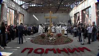 Russland erinnert an Ende des Terrorangriffs in Beslan