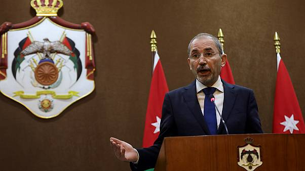 وزير الخارجية الأردني أيمن الصفدي- أرشيف رويترز