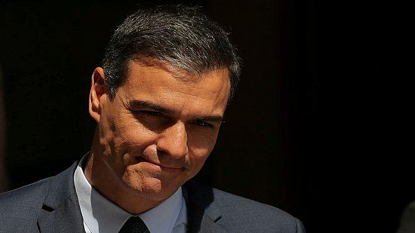بيدرو سانشيز رئيس الحكومة الإسبانية المنتهية ولايته
