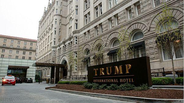 فندق ترامب الدولي في واشنطن- أرشيف رويترز