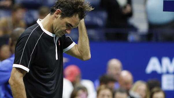US Open: Εκτός τετράδας ο Φέντερερ