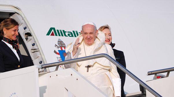 Le Pape François, prêt à partir pour Maputo, au Mozambique