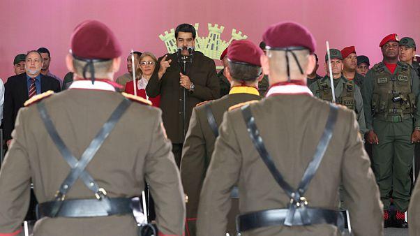 نیکلاس مادورو و گارد ملی ونزئولا