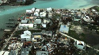صورة جوية لآثار الدمار الذي خلفه الإعصار في الباهاماس