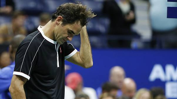 حذف راجر فدرر از مسابقات تنیس اوپن آمریکا