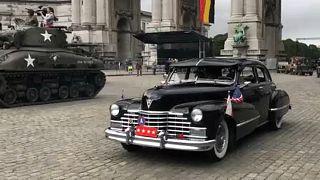Történelmi parádé Brüsszel felszabadulásának 75. évfordulóján