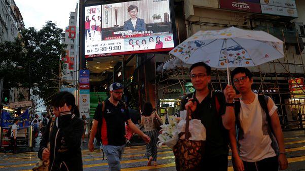 Власти Гонконга отзывают законопроект об экстрадиции