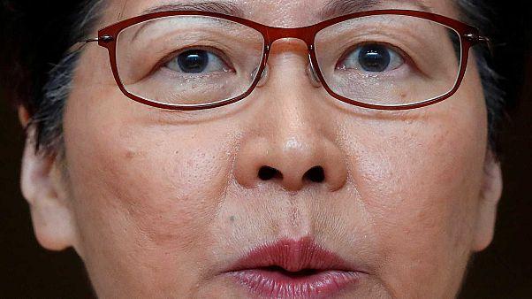 Carrie Lam, le 3 octobre 2019 à Honk Kong