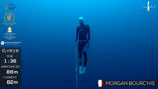 Morgan Bourc'his, l'ivresse des profondeurs