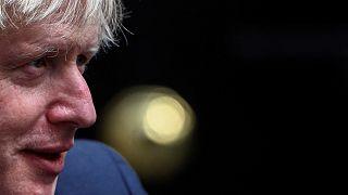 Boris Johnson a Downing Streeten, szeptember 4-én