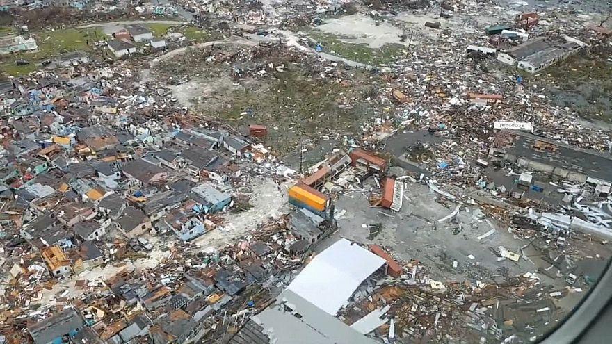 ویدئو؛ طوفان دورین مناطق مسکونی جزایر باهاما را درو کرد
