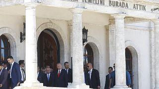 Türkiye Cumhurbaşkanı Recep Tayyip Erdoğan, Sivas Kongresi'nin 100. yıl dönümü etkinlikleri kapsamında Sivas'ta düzenlenen programa katıldı.