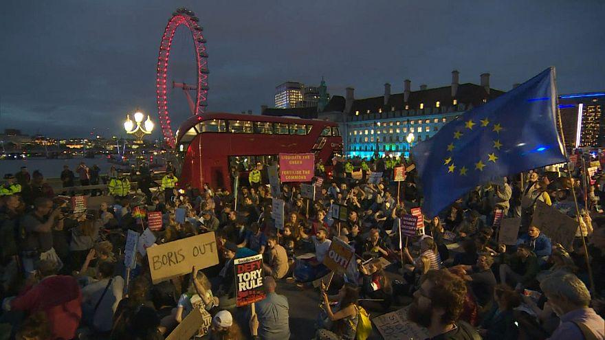 Protest gegen Boris Johnsons Kurs